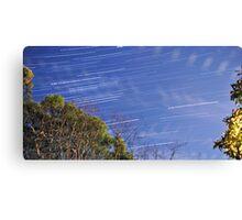star trails Canvas Print