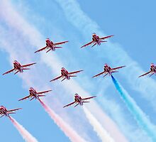The 2010 Red Arrows by Cliff Williams