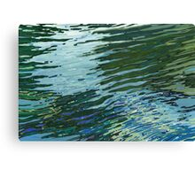 Sawgrass Lake in The Spring Lake Reflections Margaret Juul Canvas Print