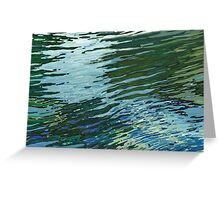 Sawgrass Lake in The Spring Lake Reflections Margaret Juul Greeting Card