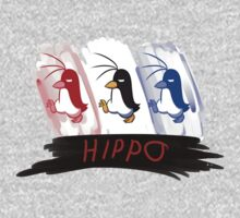 Hippo the Penguin! One Piece - Short Sleeve