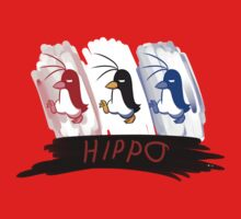 Hippo the Penguin! Kids Tee