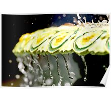 Fountain Splash Poster