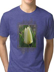Tulip named Perles de Printemp Tri-blend T-Shirt