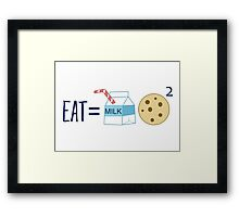 The Formula Framed Print