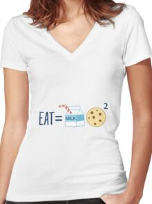 The Formula Women's Fitted V-Neck T-Shirt