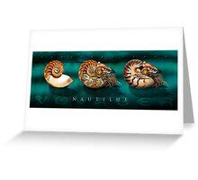 Nautilus Voyager Greeting Card