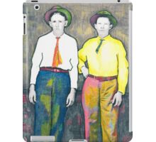 Bill and Pete Posing iPad Case/Skin