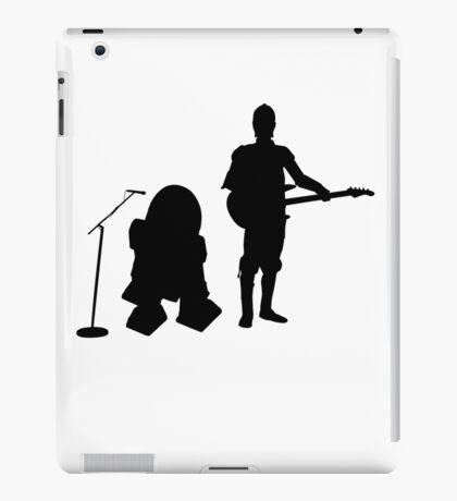 R2D2 C3PO Rock Band iPad Case/Skin