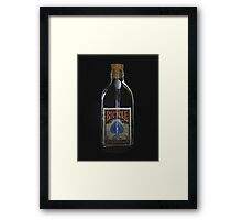 Impossible Bottle Framed Print