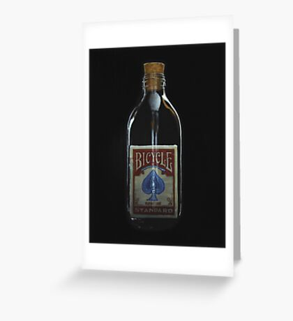 Impossible Bottle Greeting Card
