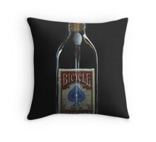 Impossible Bottle Throw Pillow