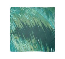 Tide Curling In All Shades of Green Margaret Juul Scarf