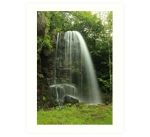 Kilfane Waterfall Art Print