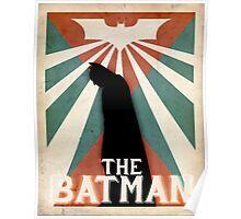 Superheroes - RETRO BATMAN Poster