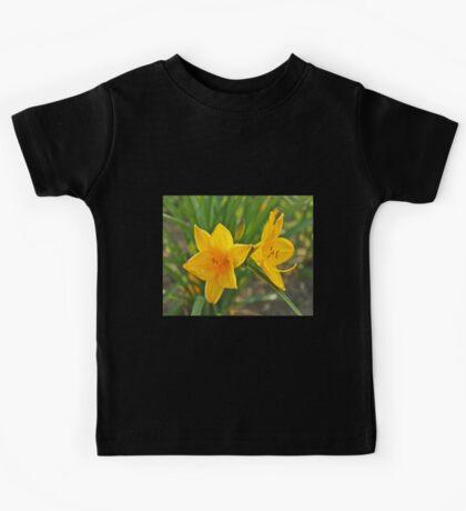 Yellow Iris Kids Tee