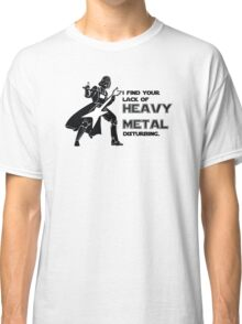 Darth Vader Heavy Metal Classic T-Shirt