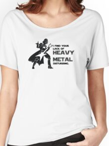 Darth Vader Heavy Metal Women's Relaxed Fit T-Shirt