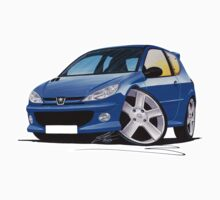 Peugeot 206 GTi Blue by Richard Yeomans
