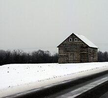Snow Barn by Brian Gaynor