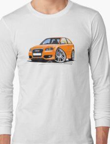 Audi S3 (Mk2) Orange Long Sleeve T-Shirt