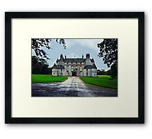 Leith Hall (Huntly, Aberdeenshire, Scotland) Framed Print