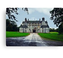 Leith Hall (Huntly, Aberdeenshire, Scotland) Canvas Print