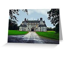 Leith Hall (Huntly, Aberdeenshire, Scotland) Greeting Card