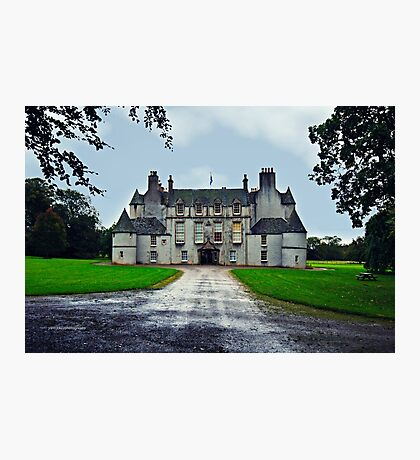 Leith Hall (Huntly, Aberdeenshire, Scotland) Photographic Print