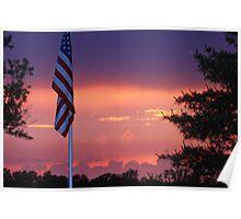 Somber Sunset  Poster