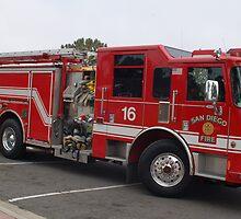San Diego Fire Engine,161 views by dragonsnare