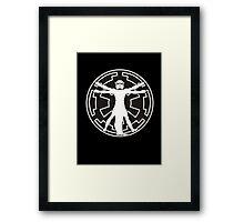 Stormtrooper DaVinci Framed Print