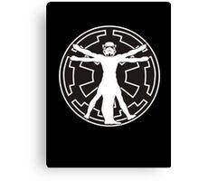 Stormtrooper DaVinci Canvas Print