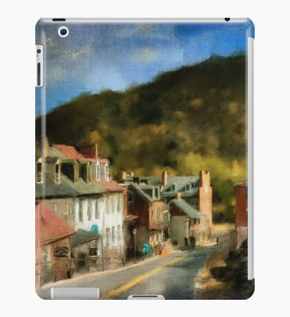 High Street In The Early Evening iPad Case/Skin