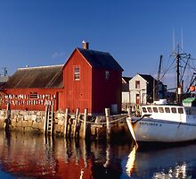 Motif Number 1, Rockport, Cape Ann, Massachusetts by Tony Ramos