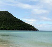 Reduit Beach St. Lucia by nkluke147