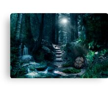 Avalon by Moonlight Canvas Print