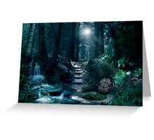 Avalon by Moonlight Greeting Card