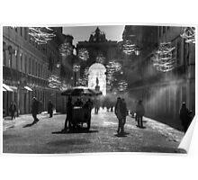 Rue Augusta, Lisbon Poster