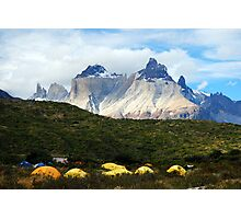 Torres del Paine, Chile, Patagonia Photographic Print