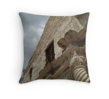 Old and Proud - The Alamo Throw Pillow