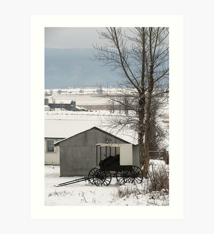 Big Valley Unspoiled Art Print
