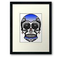 Dia De Los Muertos, Robotic Framed Print