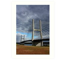 Bill Emerson Memorial Bridge (Day) Art Print