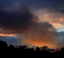 Smoke in the Sunset by Daniel Owens
