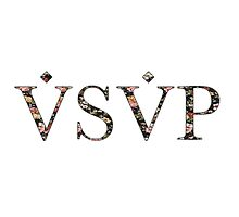 ASAP VSVP PINK GREEN RED YELLOW FLORAL by SourKid