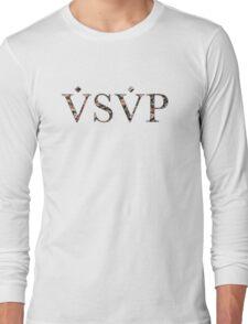 ASAP VSVP PINK GREEN RED YELLOW FLORAL Long Sleeve T-Shirt