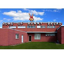 Home of Bunny Bread Photographic Print