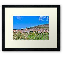 Poggioreale Landscape Framed Print