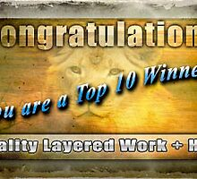 Banner Top Ten Winner of quality, layered work and HDR by imagetj